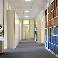 Eingangsbereich der Kanzlei Behrens & Partner - Fachanwälte für Arbeitsrecht in Hamburg